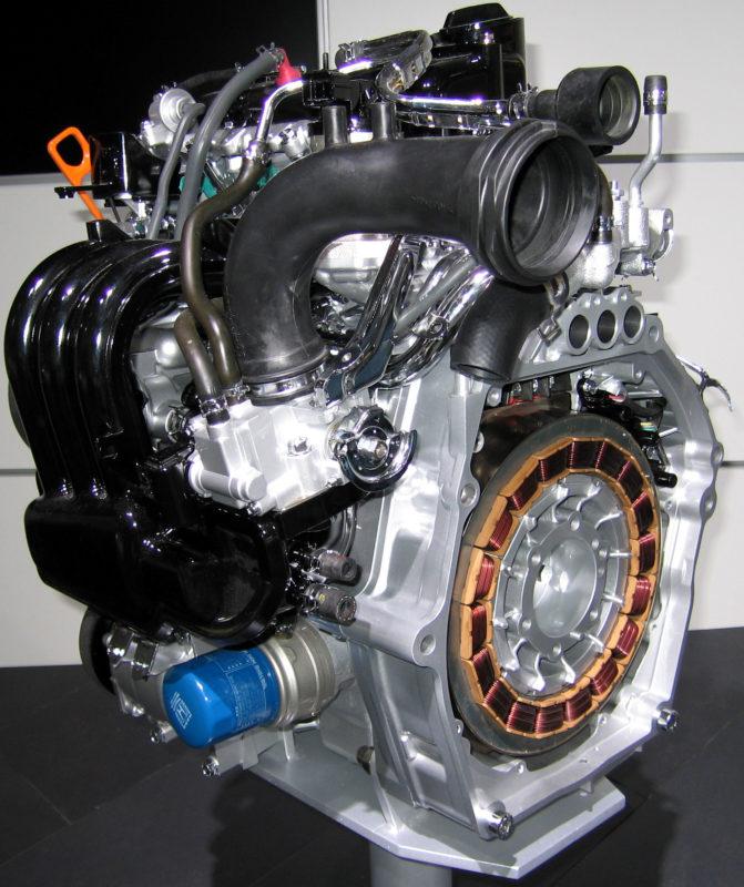 IMA - гибридная силовая установка Honda