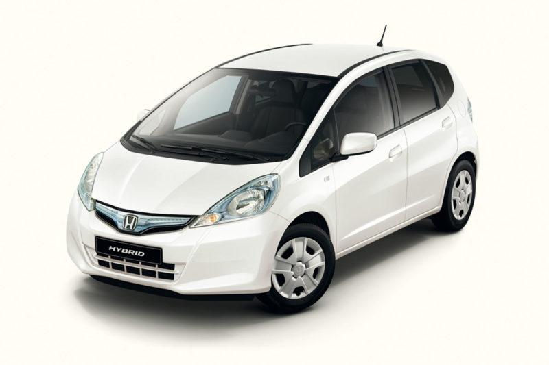 Honda Jazz Hybrid второго поколения